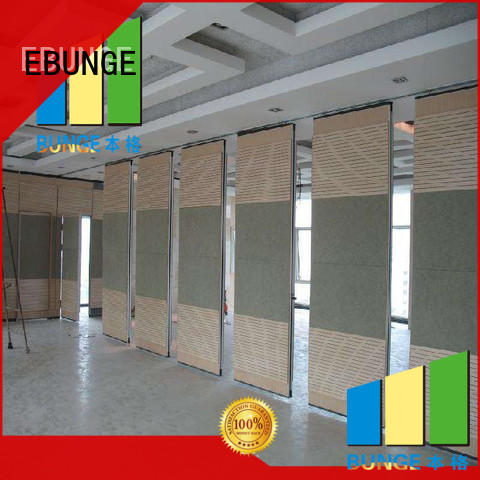 EBUNGE folding partition walls for home factory direct supply for conference room