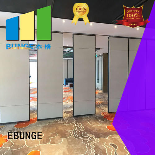 EBUNGE wooden operable partitions factory direct supply for office