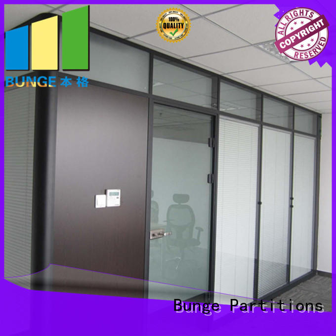 interior glass partitions and doors factory direct supply for banquet hall EBUNGE