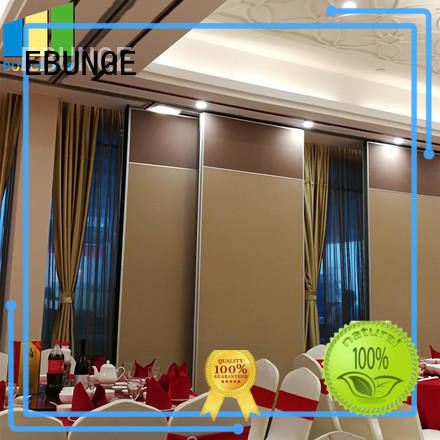 EBUNGE real movable walls manufacturer for meeting room