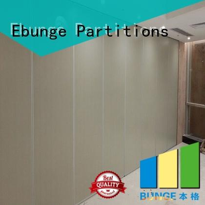 EBUNGE aluminum frame commercial room dividers from China for shop