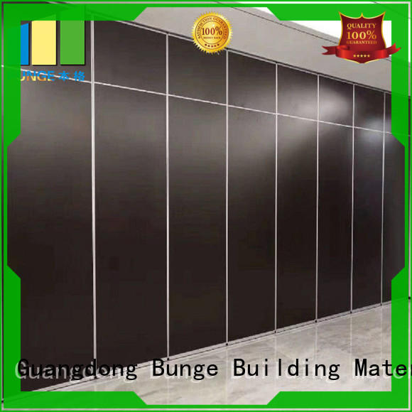 EBUNGE with wheels movable walls manufacturer for restaurant