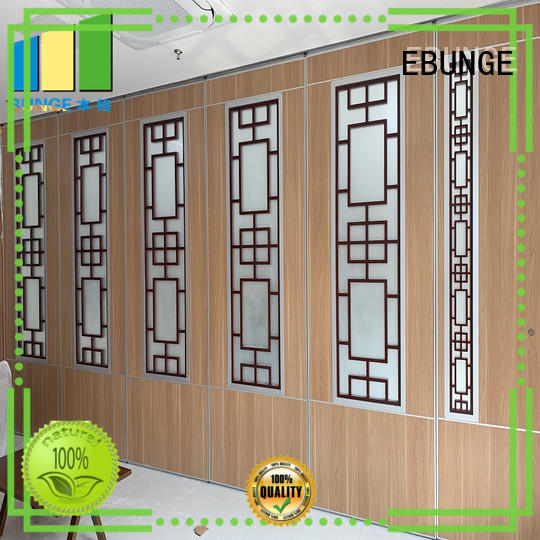 EBUNGE aluminum partition wall types factory for conference room
