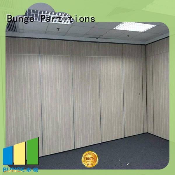BUNGE wall partition with door factory direct supply for shop