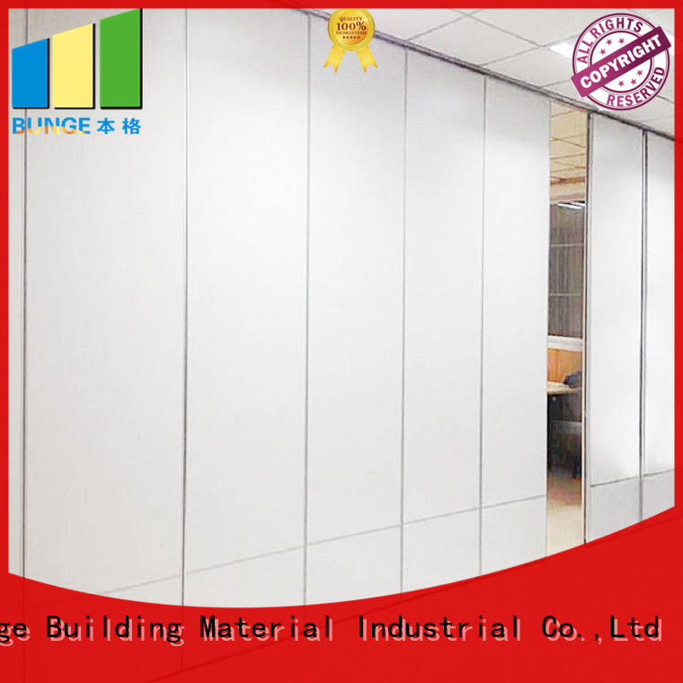 EBUNGE wooden partition divider factory direct supply