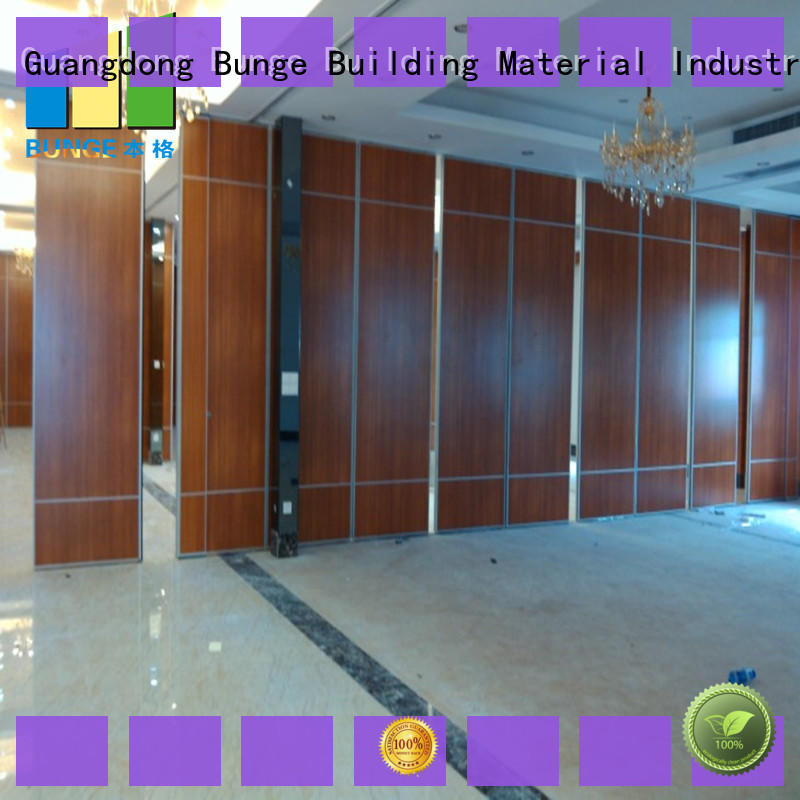 EBUNGE hot selling moving wall systems for banquet halls