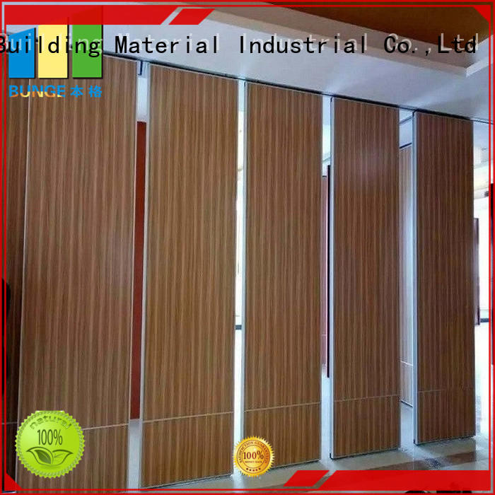 acoustic interior partition wall directly sale for function hall