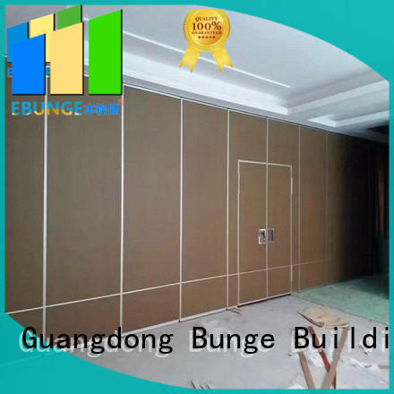 EBUNGE soundproof movable walls factory direct supply for hotel