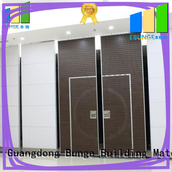 popular foldable partition customized for banquet hall