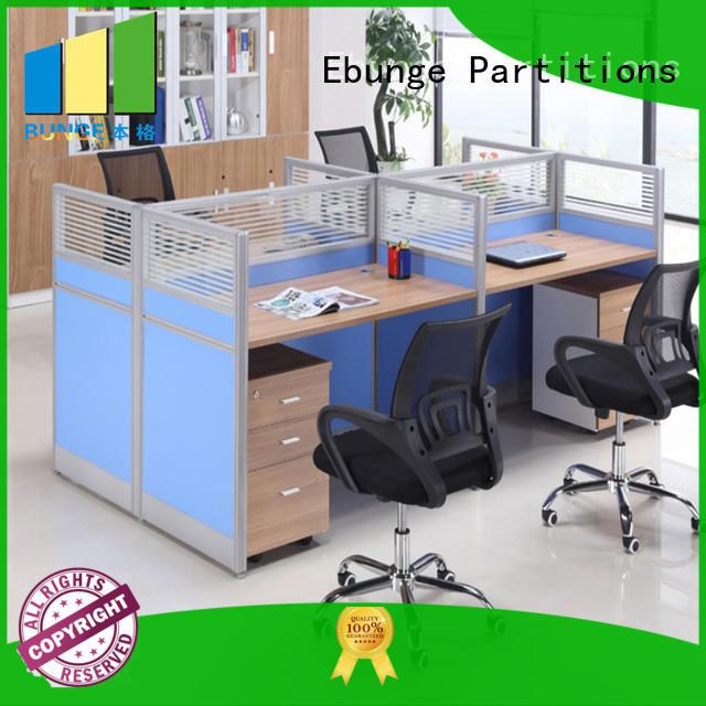 EBUNGE melamine modular workstation wholesale for work