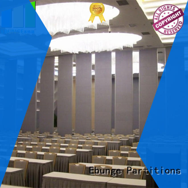 EBUNGE glass partition design directly sale for banquet hall