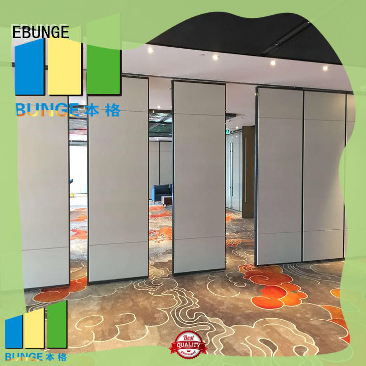 EBUNGE professional partition wall types with good price for banquet hall