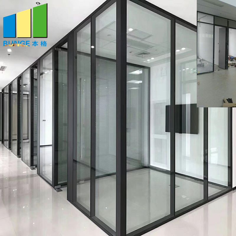 Bunge-Manufacturer Of Glass Partition Wall Design Glass Office Walls Cost-2