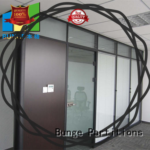 EBUNGE durable glass walls for office interiors factory direct supply for conference room