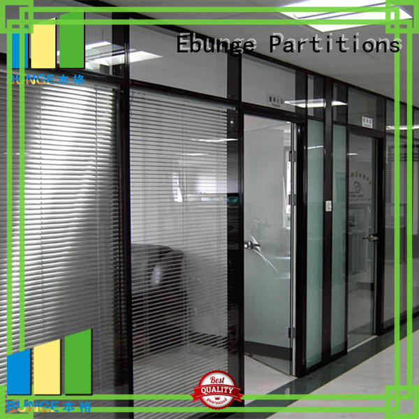 EBUNGE toughened glass partition series for banquet hall