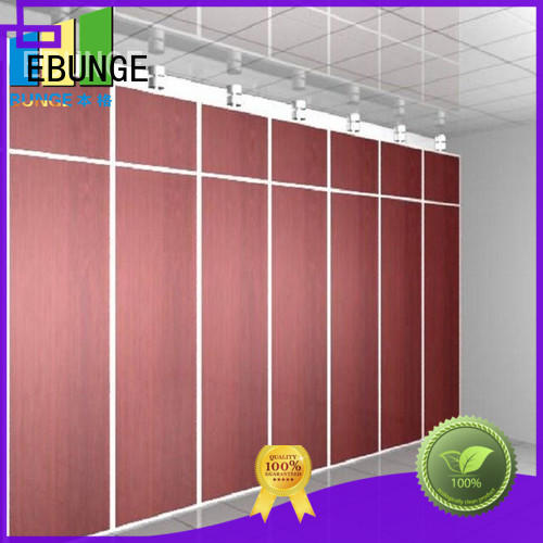 EBUNGE room partition wall manufacturer for hotel