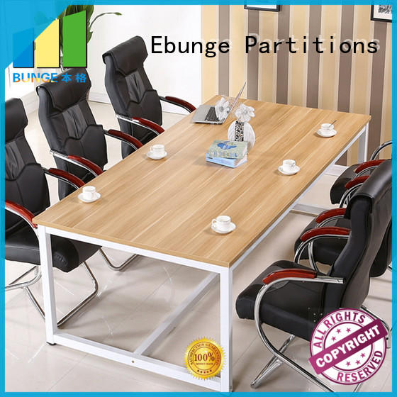 EBUNGE meeting room table personalized for boardroom
