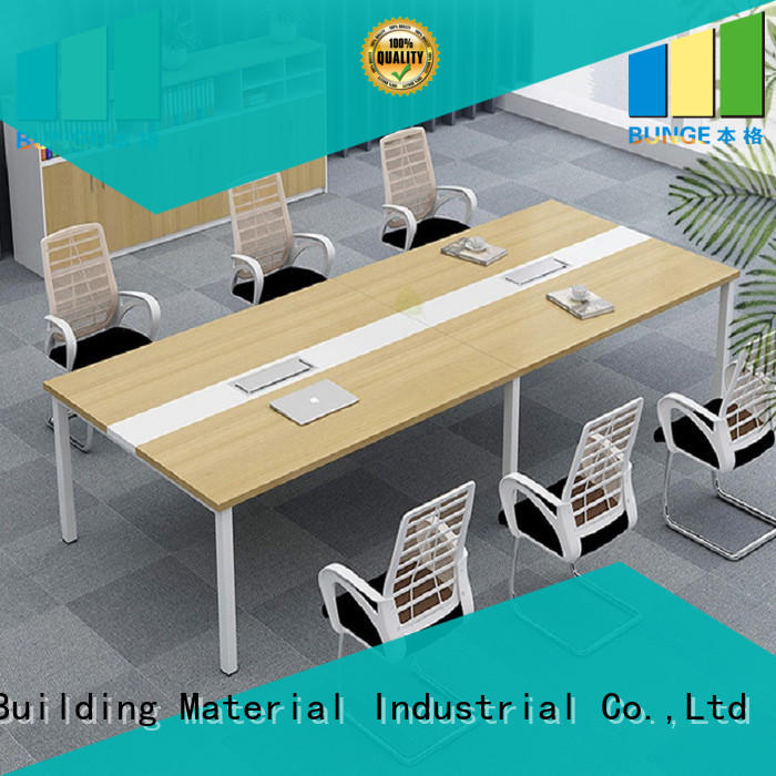 EBUNGE sturdy wood conference tables manufacturer for meeting room