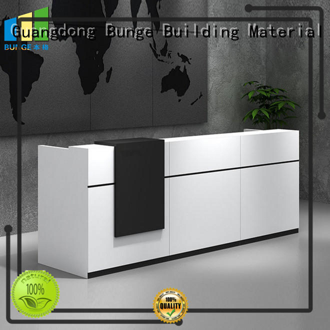 EBUNGE frosted glass cubicle desk design for conference room