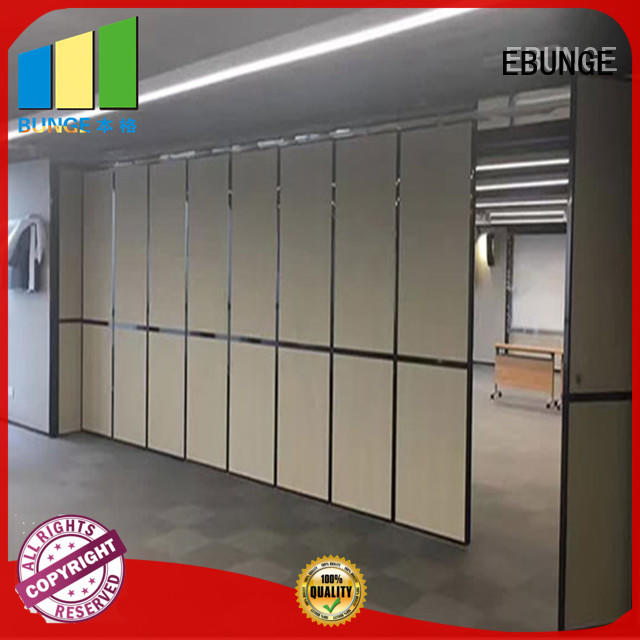 durable wooden partition factory price for banquet hall