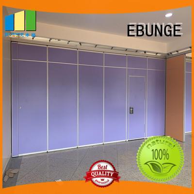 EBUNGE sliding restaurant partition factory direct supply for shop