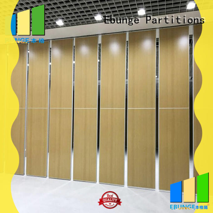 EBUNGE folding wall divider customized for banquet hall