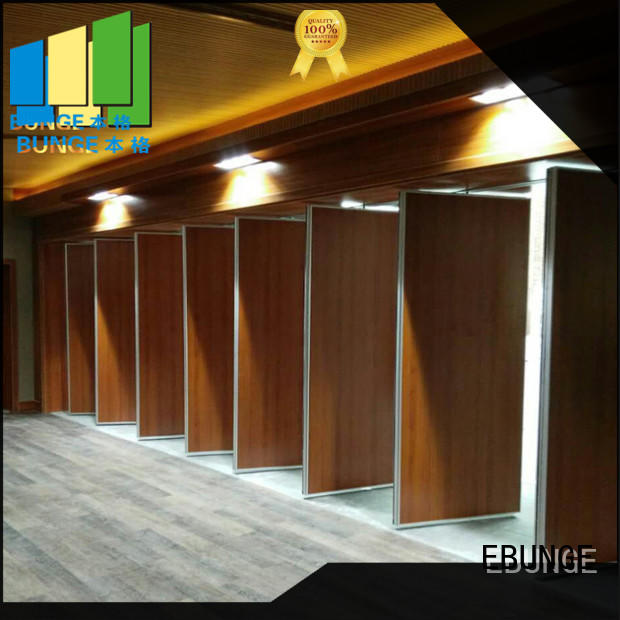 EBUNGE durable wall partition with door factory direct supply for shop