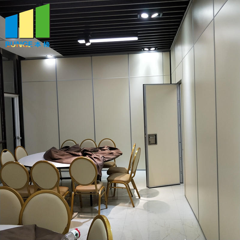 Bunge-Folding Room Dividers | Operable Wooden Soundproof Folding Hotel Partition-1