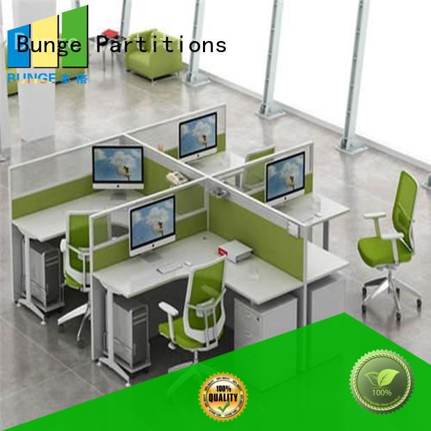 EBUNGE flexible contemporary office desk white for office