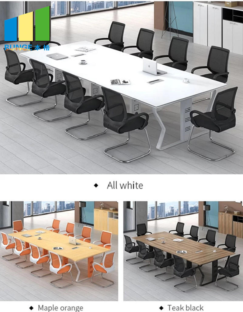 EBUNGE white cubicle desk series for office-1