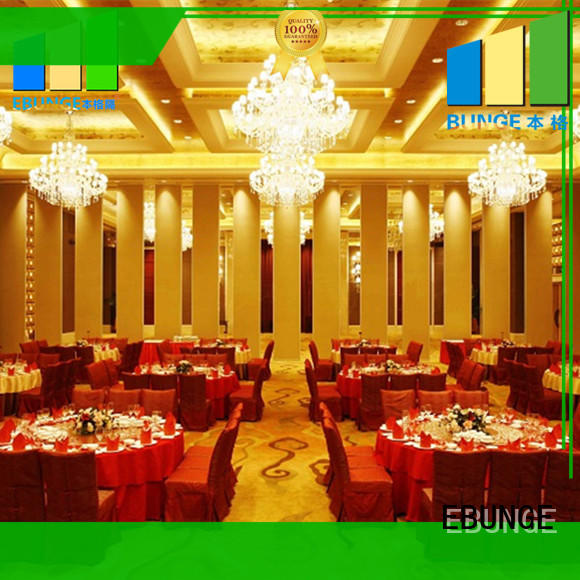 EBUNGE high quality acoustic operable walls manufacturer for conference room