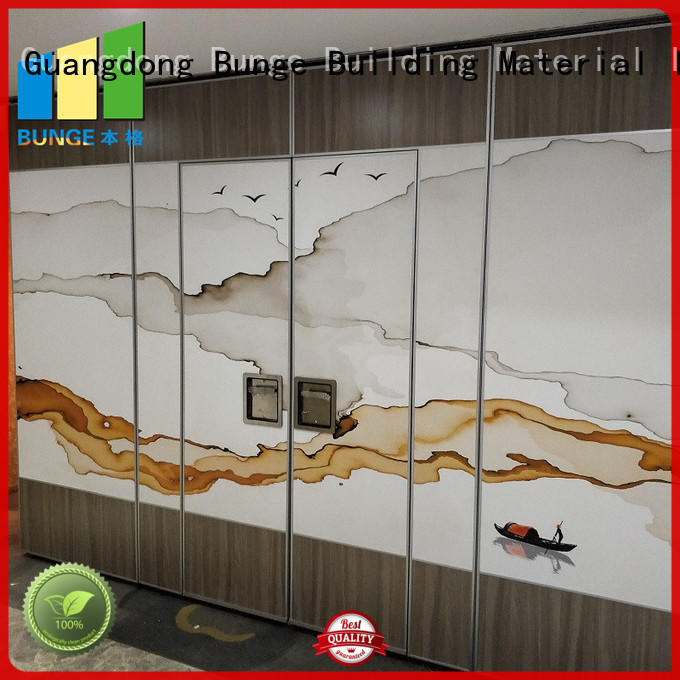 commercial partition walls for hotel EBUNGE