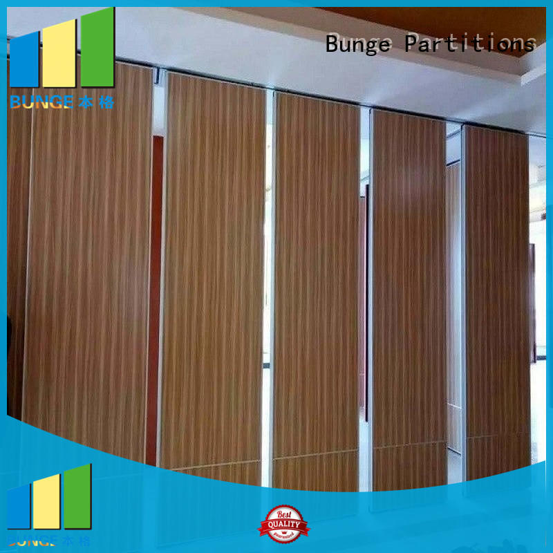 BUNGE with wheels movable walls manufacturer for meeting room