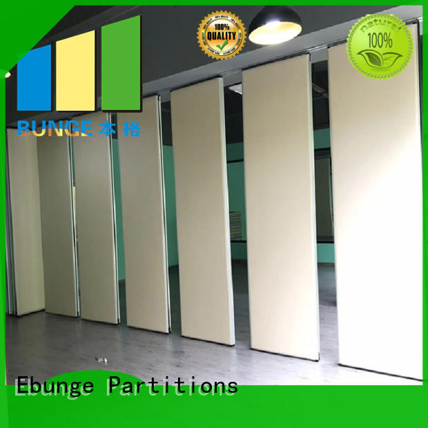 EBUNGE moveable hall partition factory for restaurant