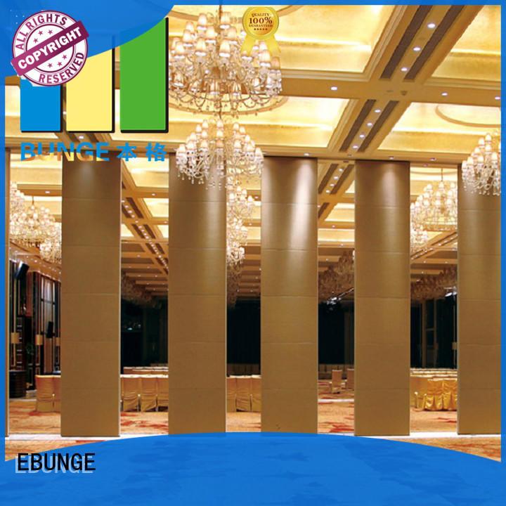 EBUNGE restaurant dividers supplier for hotel