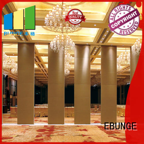 EBUNGE aluminum frame portable wall partitions supplier