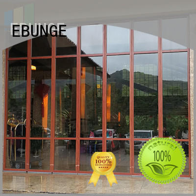 EBUNGE top quality glass partition design manufacturer for office