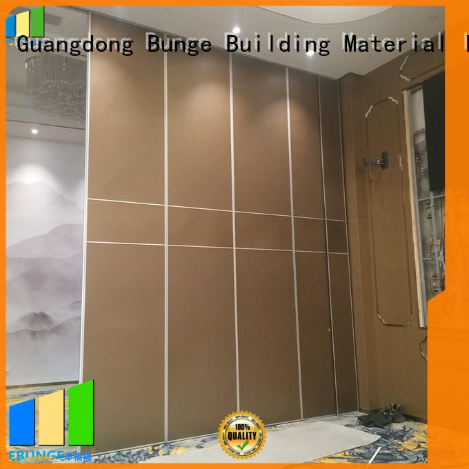 EBUNGE folding partition doors wholesale for meeting room