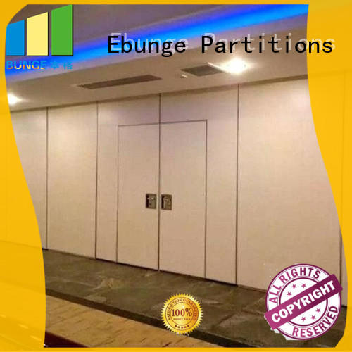 EBUNGE movable walls customized for meeting room