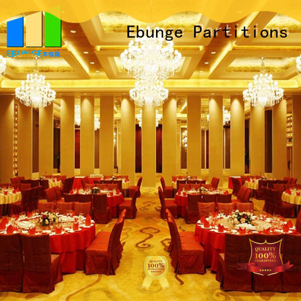 EBUNGE acoustic operable walls manufacturer for banquet hall