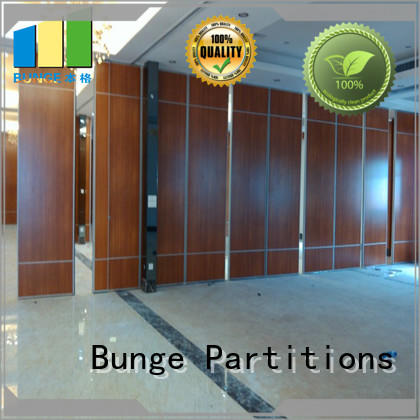 double passdoor sliding wall system customized for hotel