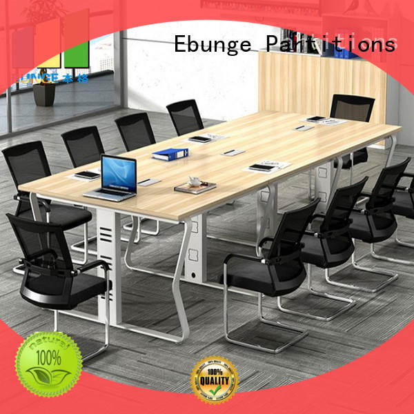 EBUNGE sturdy office conference table personalized for boardroom