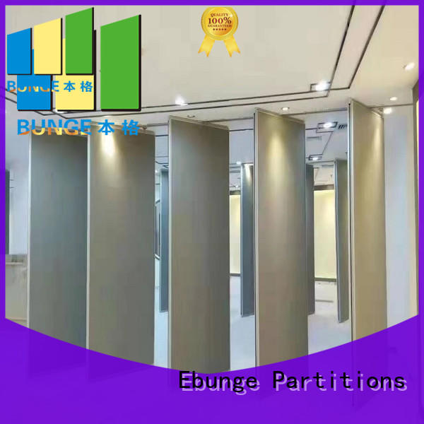 soundproof wall partition with door series for hotel