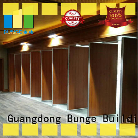 EBUNGE interior partition wall supplier for conference hall