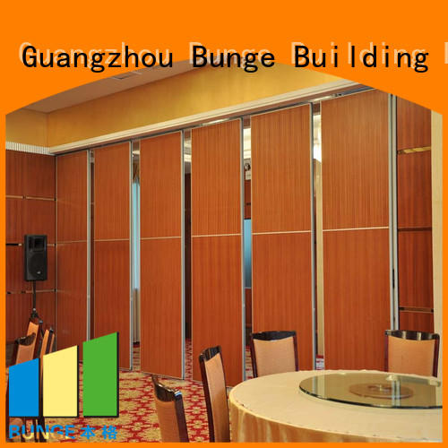 Hot operable glass wall retractable Bunge Brand