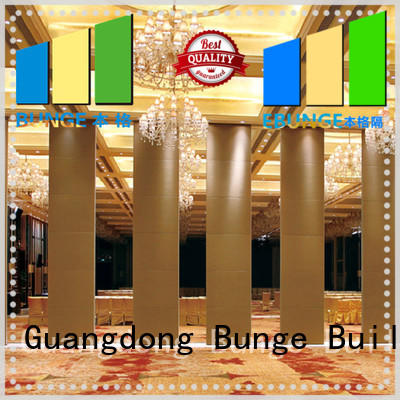 cost-effective wooden partition manufacturer for banquet hall