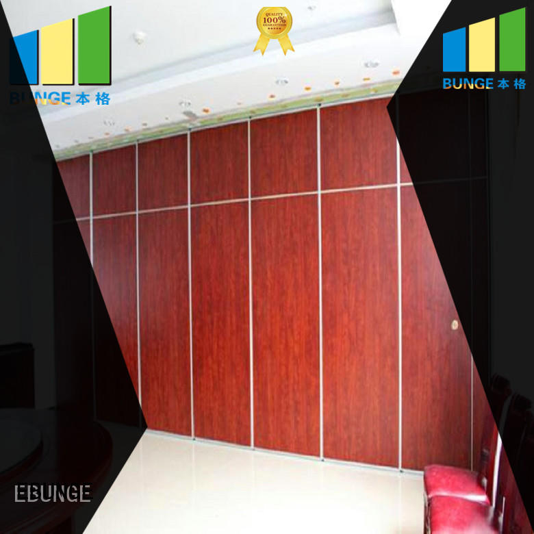 EBUNGE hall partition manufacturer for meeting room