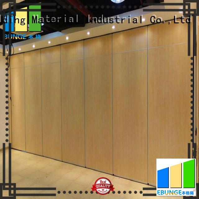 EBUNGE operable wall supplier