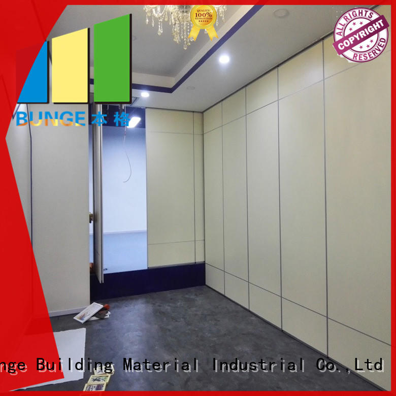 folding operable partition walls series for conference room