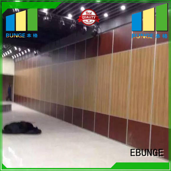 sliding operable glass wall series for hotel EBUNGE